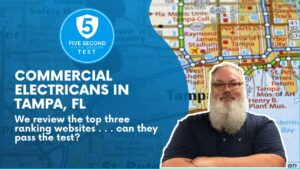 commercial electricians in tampa fl 5 second 5th grader website test
